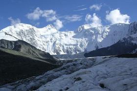 Гора Белуха (алт. Уч-Сумер, Катын-Бажи)